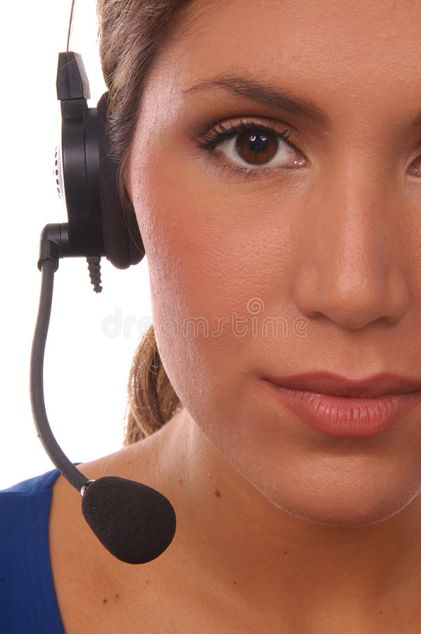 Operator royalty free stock image