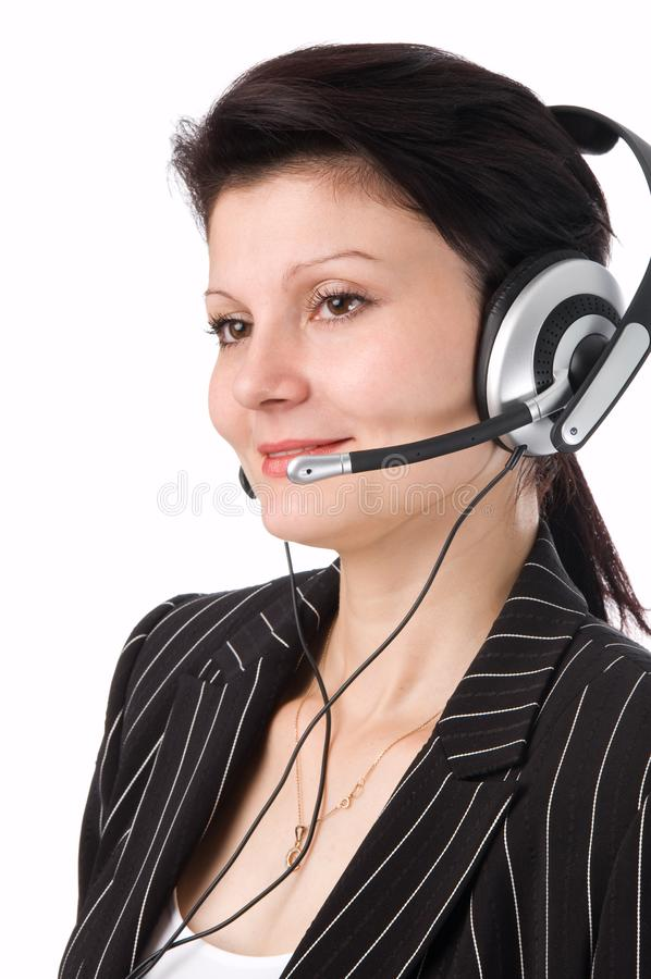 The operator stock image