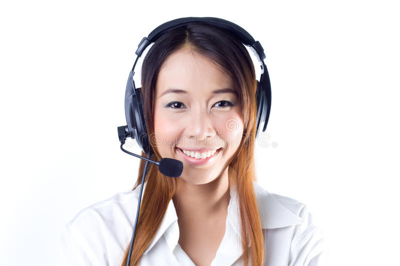 Operator royalty free stock images