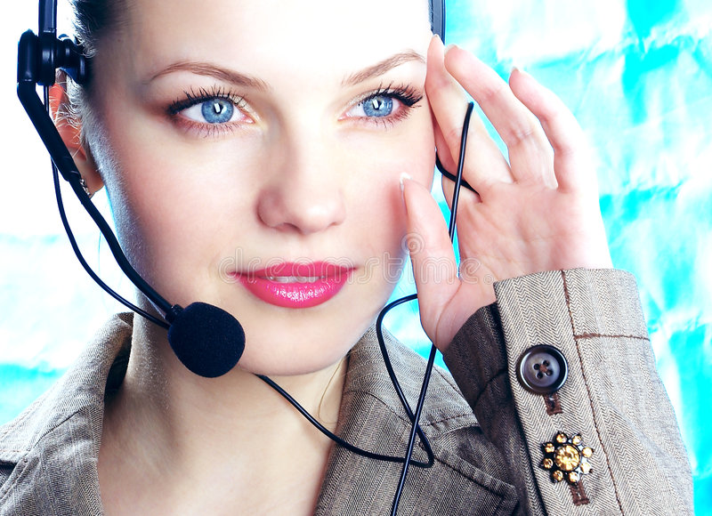 Download Operator stock image. Image of customer, copy, hotline - 572513