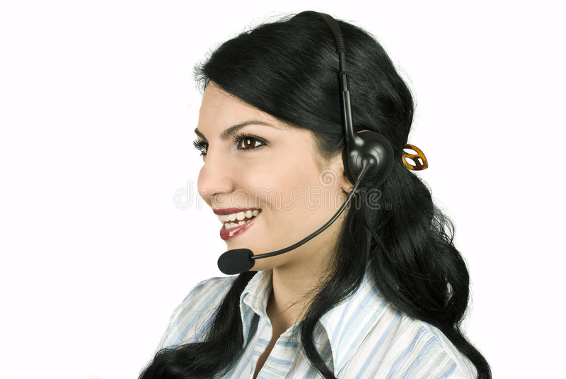Download Operator Stock Photo - Image: 8223860