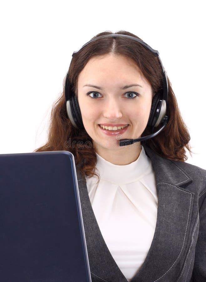 Operator Brunette Business Stock Photography
