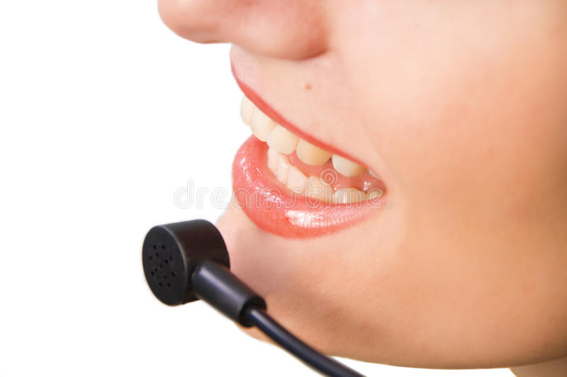 Operator of a call center or customer service