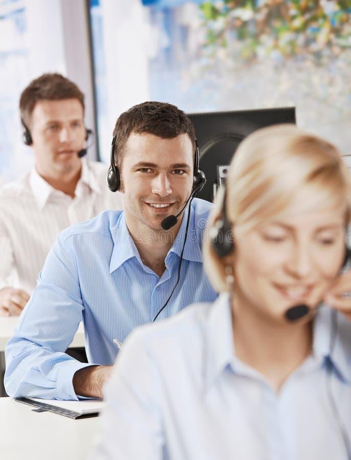 Download Operator Talking On Headset Stock Photo - Image: 13227050