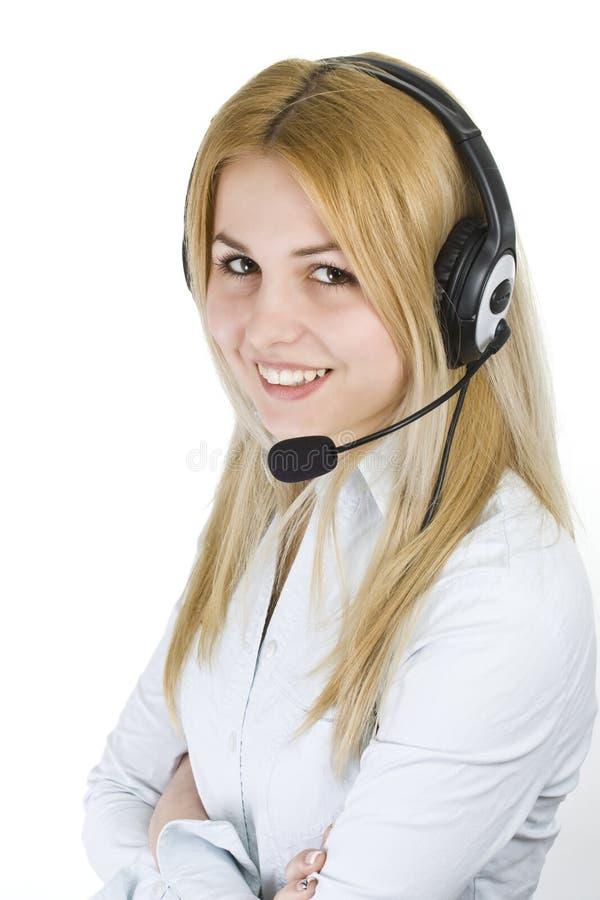 Operator woman stock photos