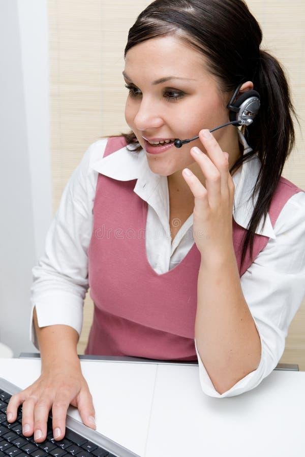 Operatore della call center immagini stock libere da diritti