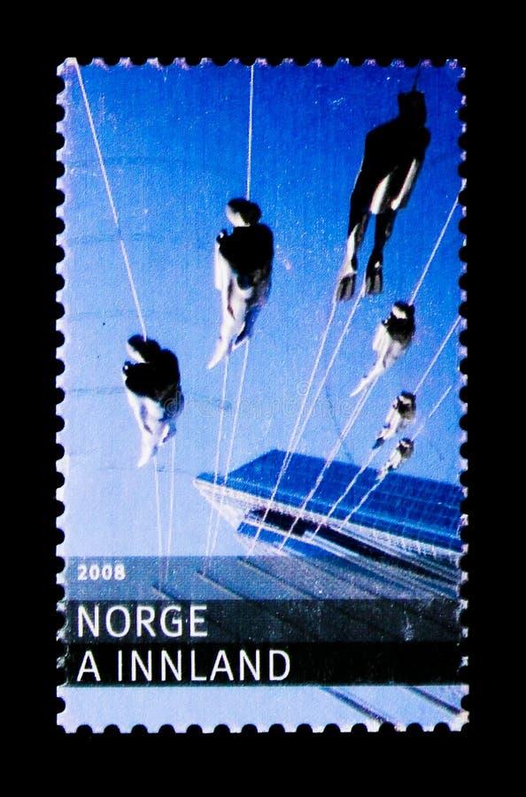 Operatori subacquei, serie di turismo, circa 2008 immagine stock libera da diritti