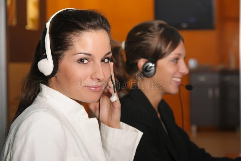 Operators royalty free stock photos