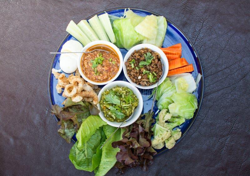 Opere del ` di Hors d di alimento tailandese tradizionale nordico immagine stock libera da diritti
