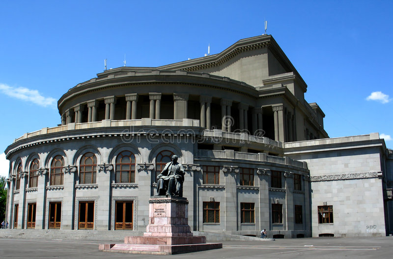 Operentheatergebäude stockfotos