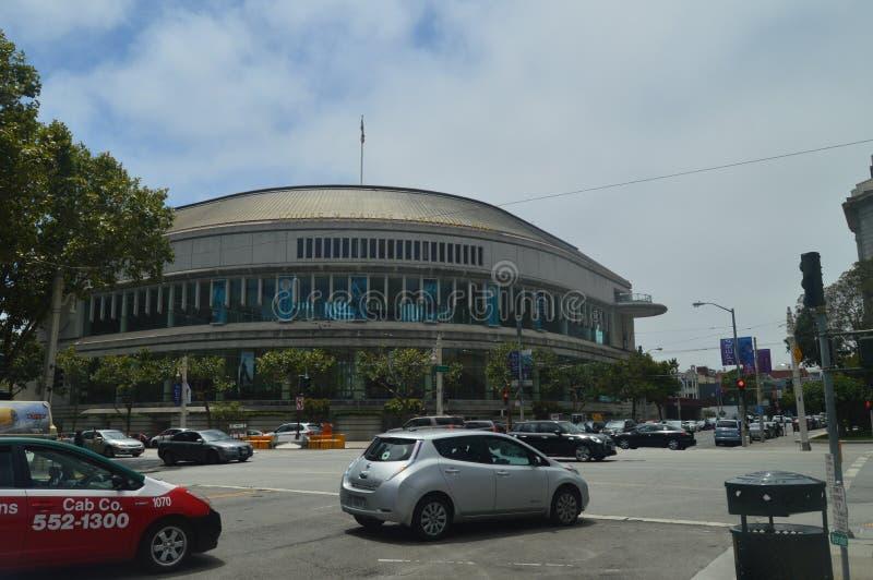 Opern-Gebäude in San Francisco Reise-Feiertage Arquitecture lizenzfreie stockfotografie