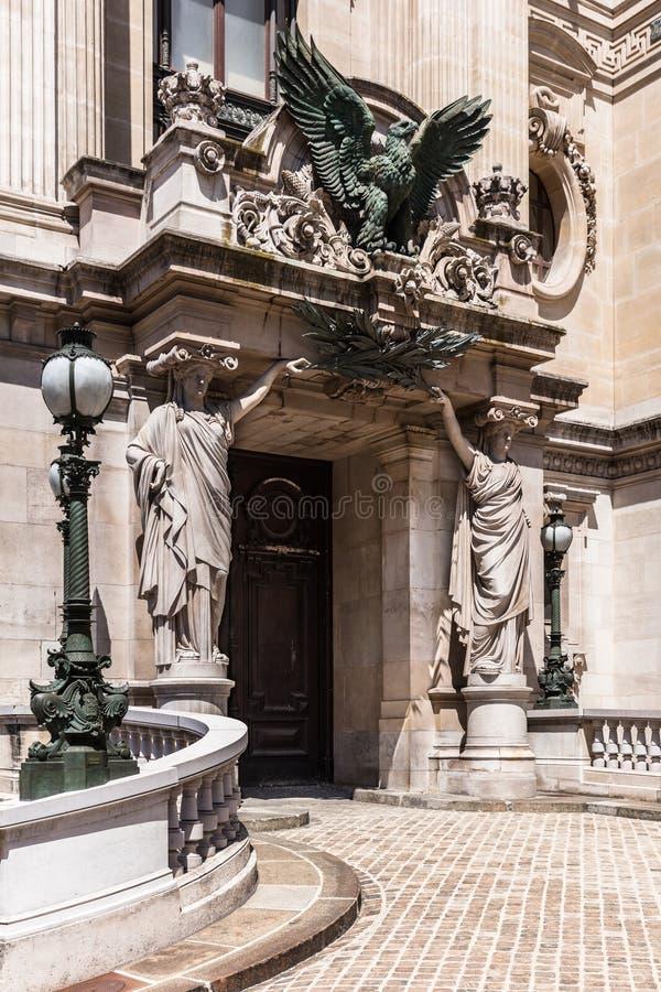Opernhaus Paris - gro?artige Opern-Oper Garnier Paris, Frankreich lizenzfreie stockfotografie
