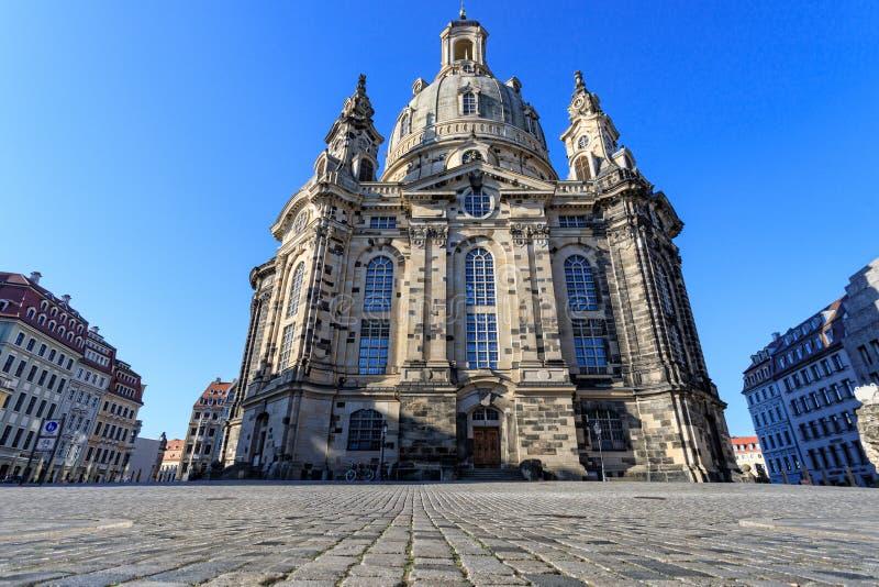 Opernhaus von Dresda stockfotos