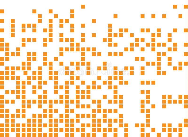 Opgelost gevuld vierkant gestippeld vectorpictogram vector illustratie