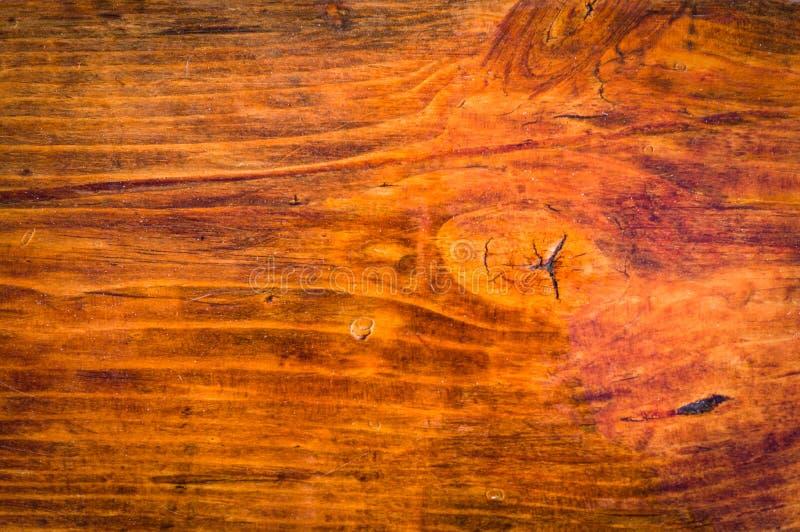 Opgepoetst polijst houten close-uptextuur binnenlandse achtergrond, royalty-vrije illustratie