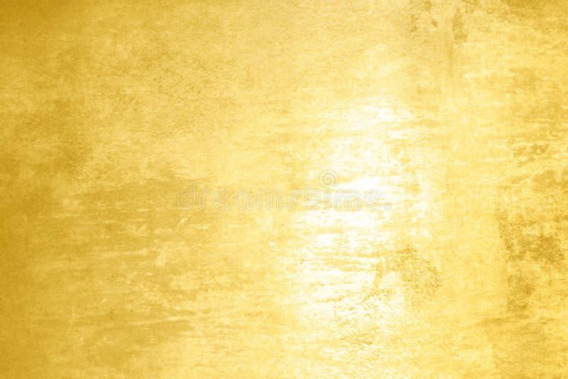 Opgepoetste abstracte gouden textuurachtergrond vector illustratie