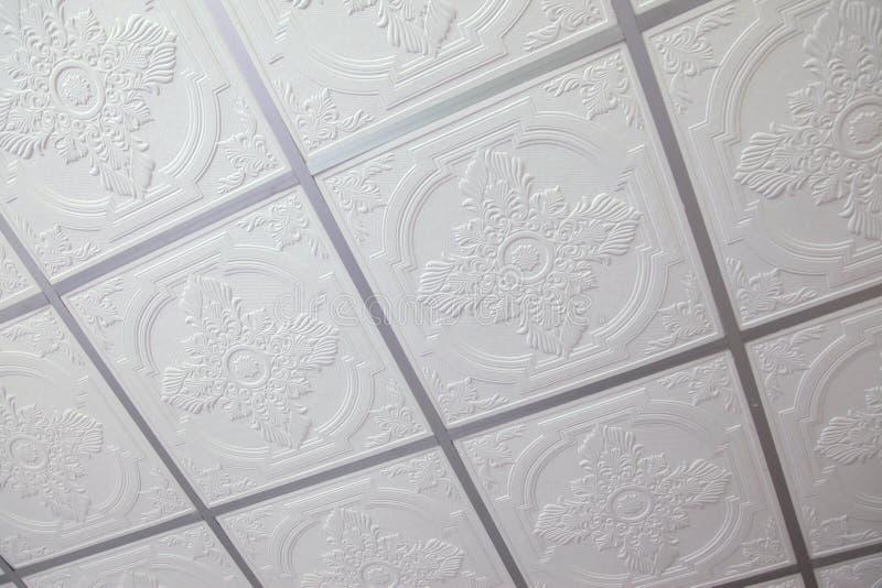 Opgeschort plafond royalty-vrije stock afbeeldingen