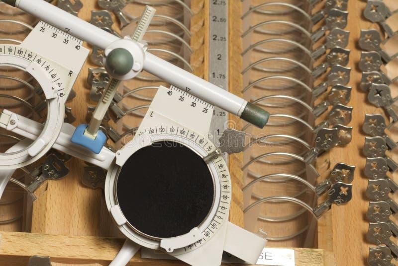 Ophtalmological Ausrüstung lizenzfreies stockbild