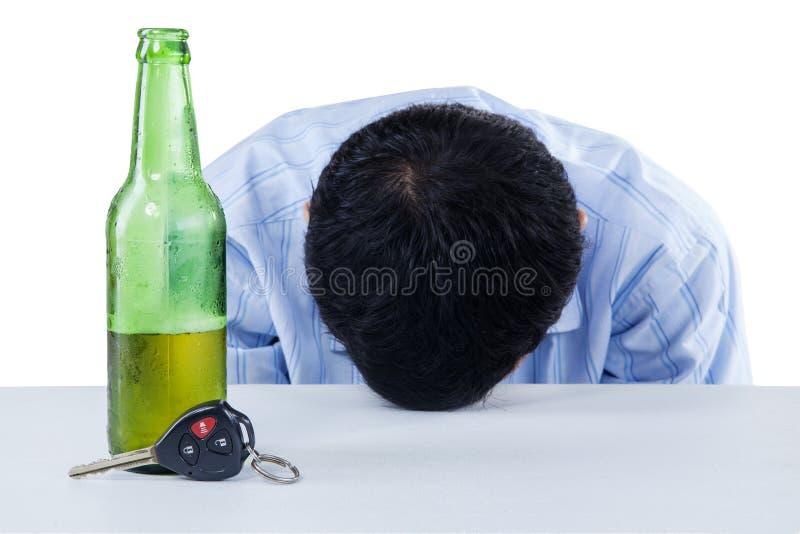 Opiły kierowca fotografia stock