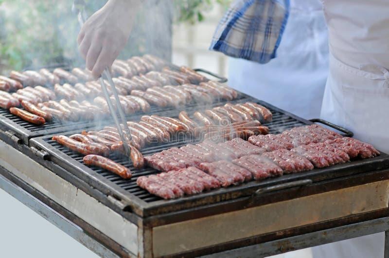 Opieczenia mięso zdjęcie royalty free
