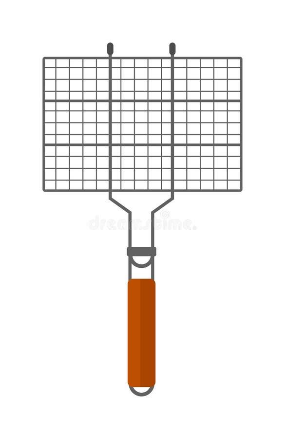 Opieczenie koszykowa wektorowa ilustracja ilustracja wektor