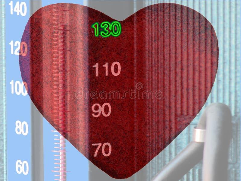 opieka krwionośny nacisk zdjęcia stock