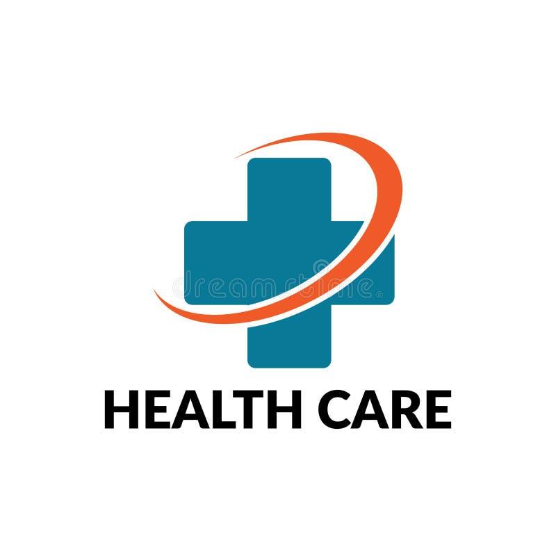 opieka zdrowotna biznesu logo royalty ilustracja