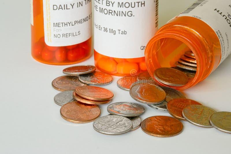 Opieka zdrowotna koszty obraz stock