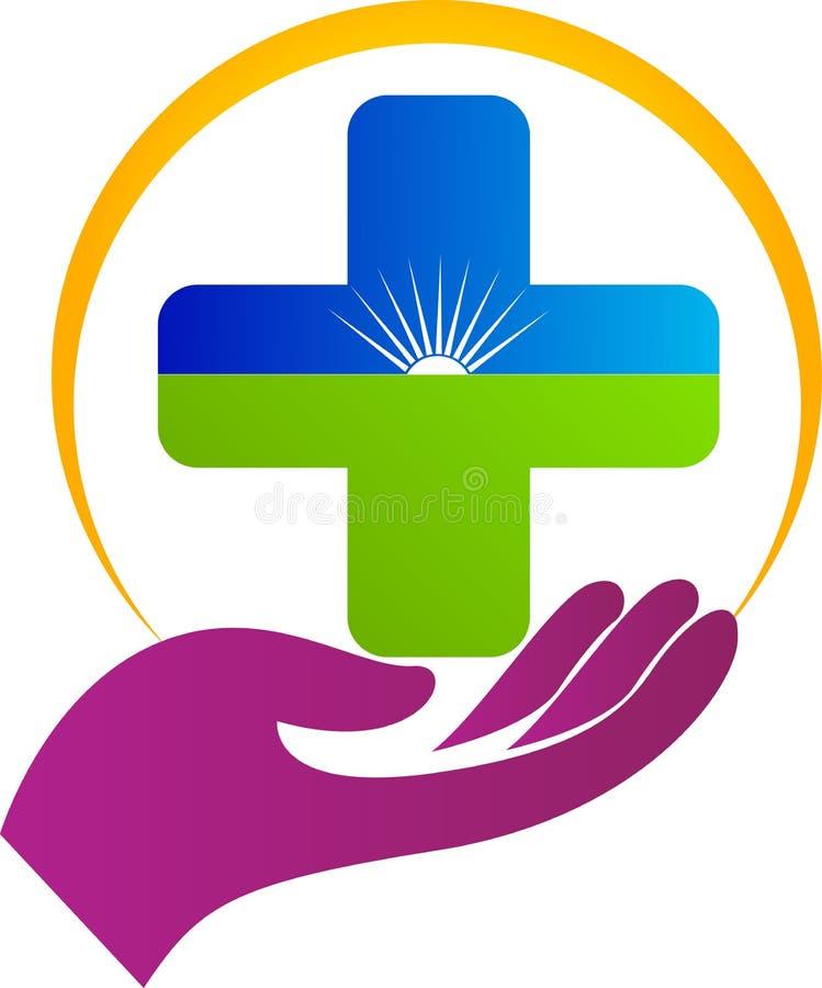 Opieka zdrowotna plus ilustracja wektor