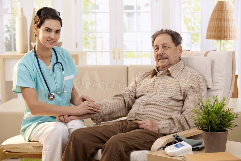 Opieka zdrowotna w domu obrazy stock