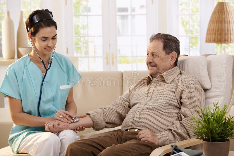 Opieka zdrowotna w domu zdjęcia stock