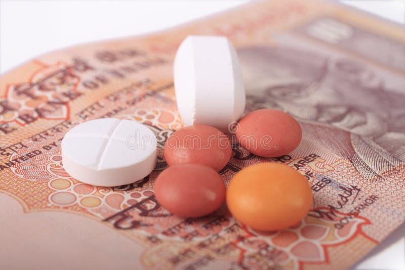 opieki kosztu zdrowie wysocy obrazy stock