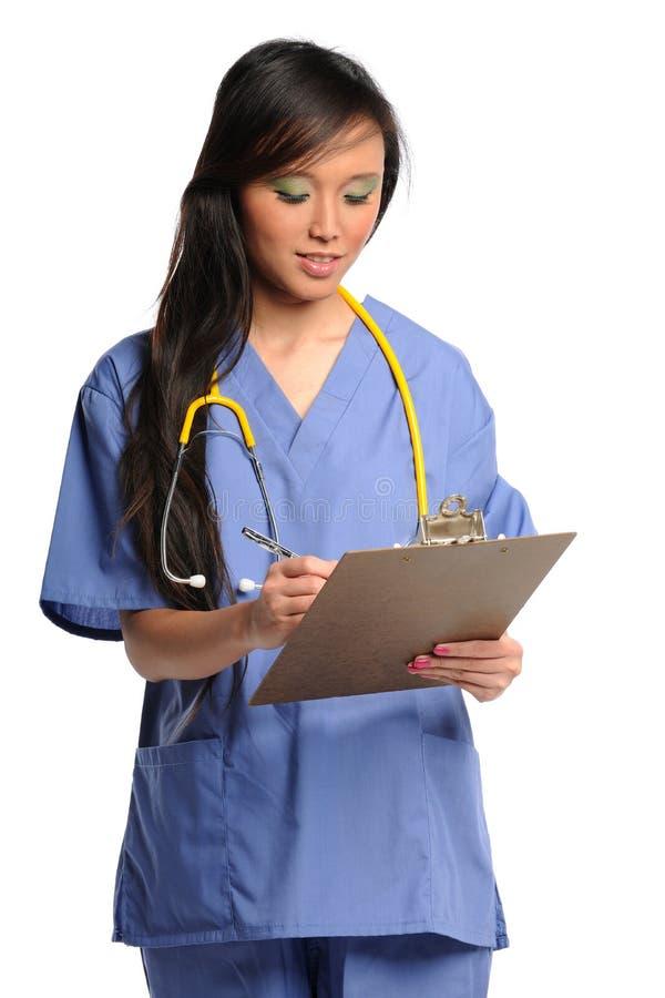 opieki schowka pracownik służby zdrowia fotografia stock
