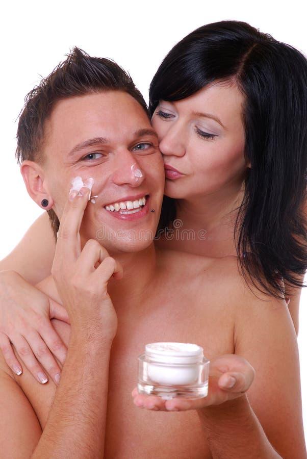 opieki skóra zdjęcie royalty free
