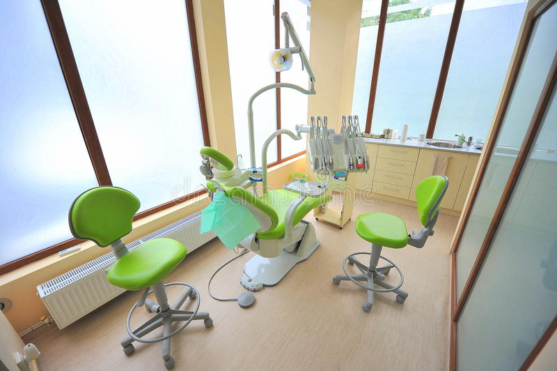 opieki stomatologiczni lekarek biura narzędzia fotografia stock