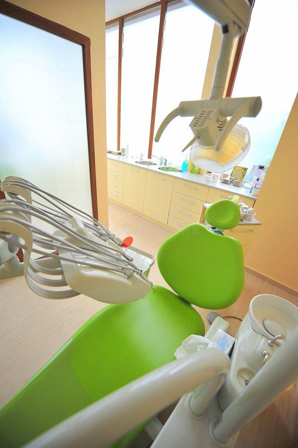 opieki stomatologiczni lekarek biura narzędzia zdjęcie stock