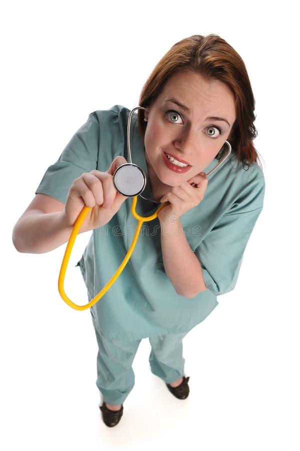 opieki zdrowie dostawcy stetoskop obrazy stock