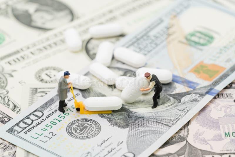 Opieki zdrowotnej, medycznego lub przemysłu farmaceutycznego biznesowy pojęcie, fotografia stock