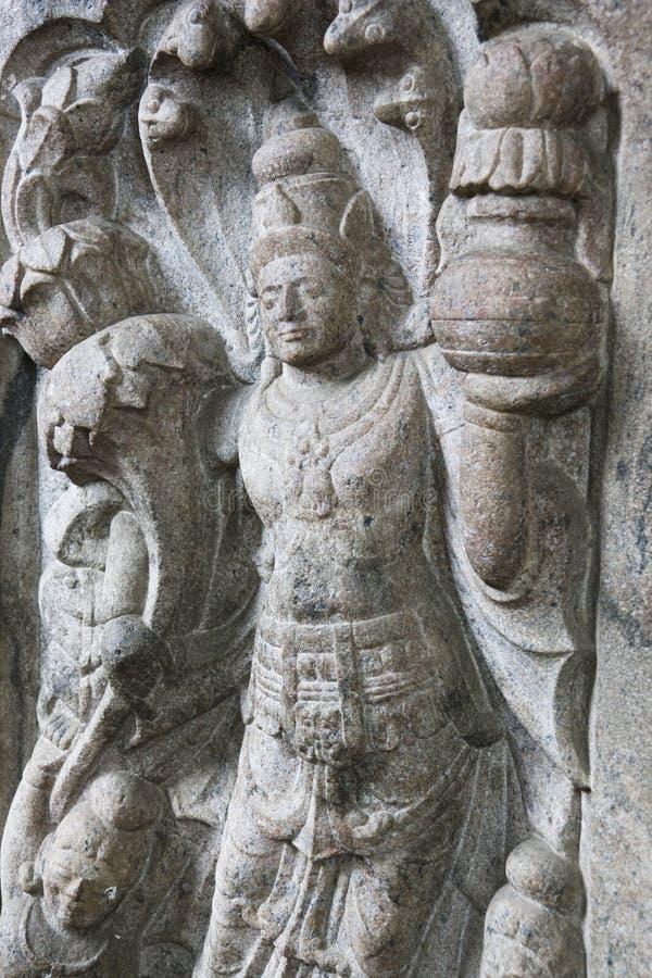 opiekunu lanka sri kamienia świątyni ząb obrazy royalty free