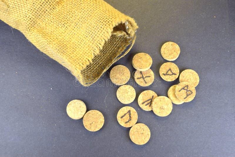 Opili runes obrazy royalty free