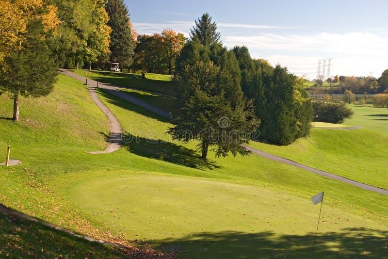 Opinião 02 Do Golfe Foto de Stock Royalty Free
