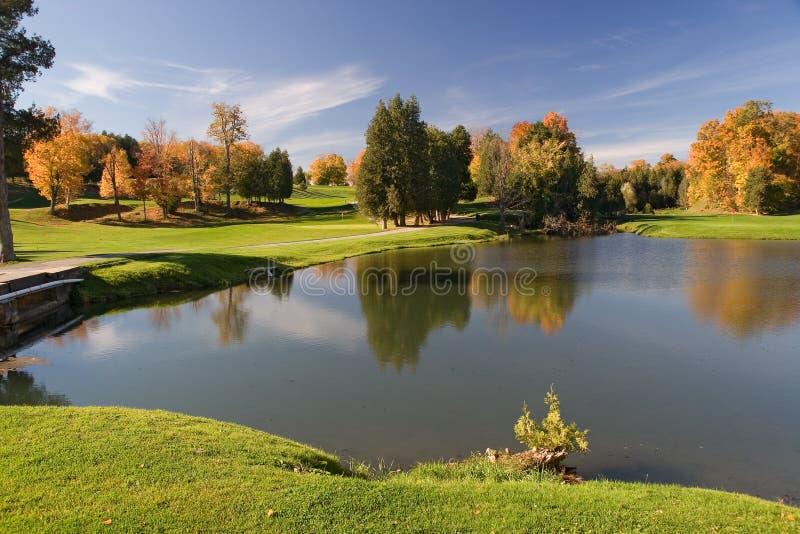 Opinião 09 do golfe imagens de stock royalty free