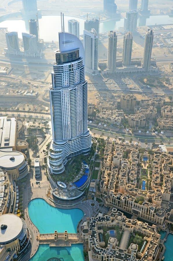 Opinião aérea de Dubai