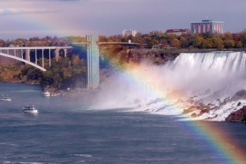 Opinião aérea de Niagara Falls fotos de stock royalty free