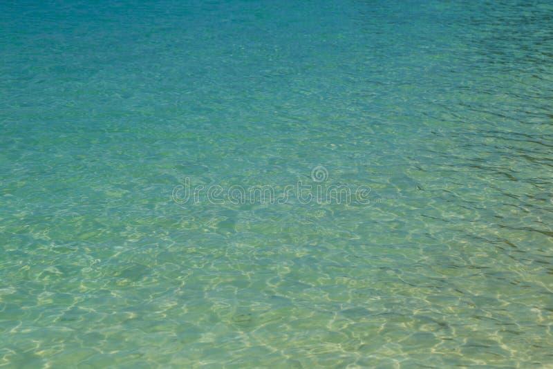 Opinião aérea de superfície do mar imagens de stock