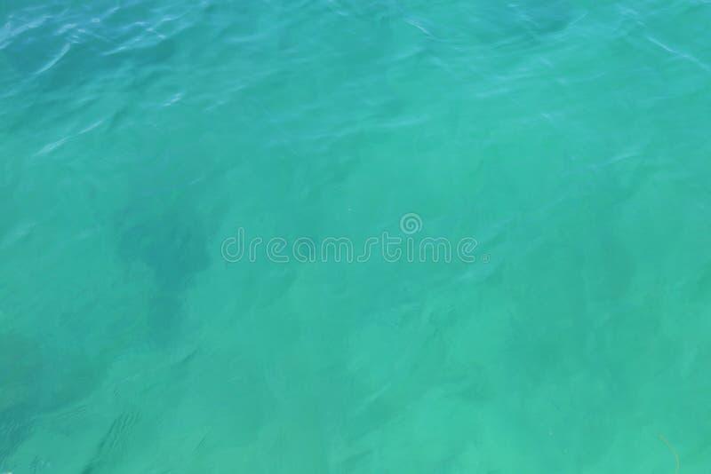 Opinião aérea de superfície do mar imagem de stock royalty free