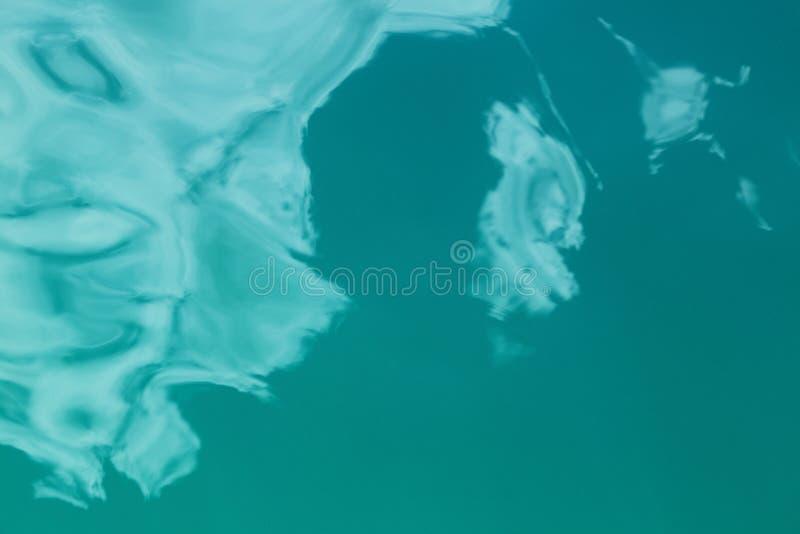 Opinião aérea de superfície do mar fotos de stock royalty free