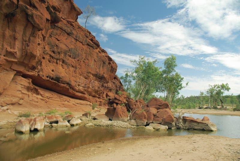 Opinião australiana do rio fotos de stock royalty free