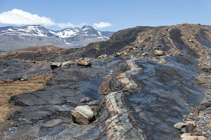 Opinião bonita da paisagem no parque nacional do Los Glaciares Patagonia, Argentina fotografia de stock