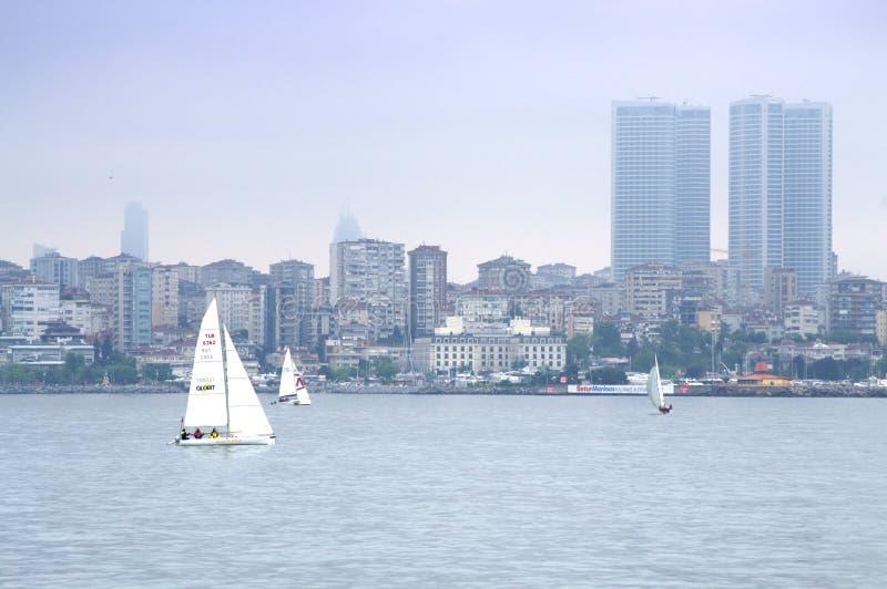 Opinião cênico de Istambul fotos de stock